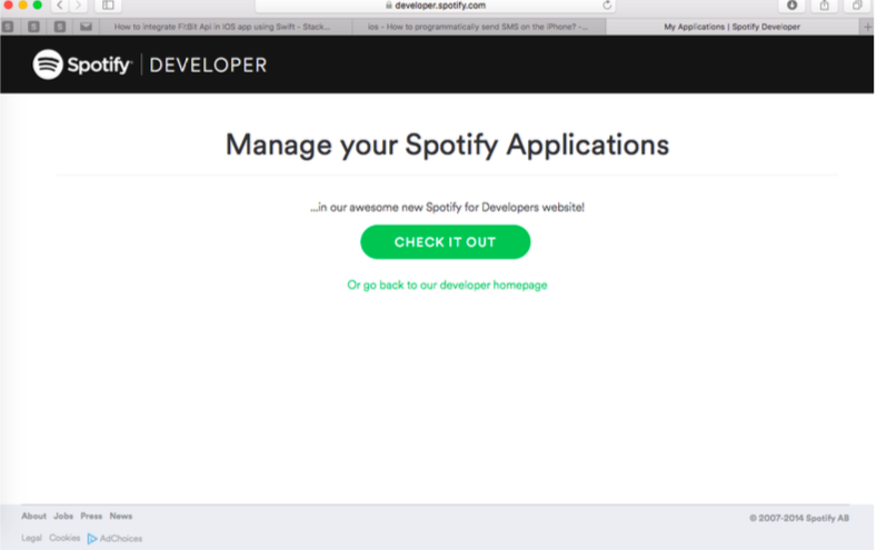 Integrating Spotify IOS SDK to play an audio track's using