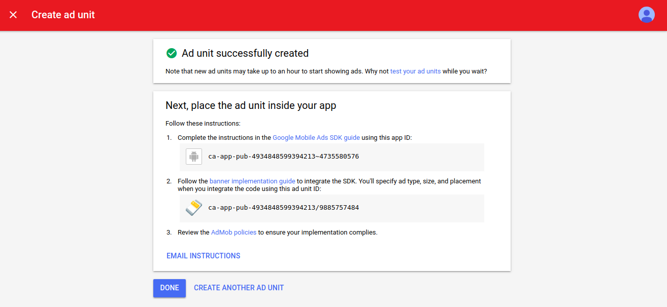 Google AdMob integration for Android apps | Custom Software